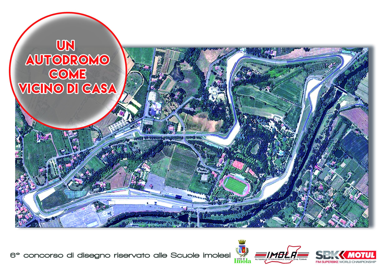 Al via la 6 edizione del concorso di disegno dal for Puerta 6 del autodromo