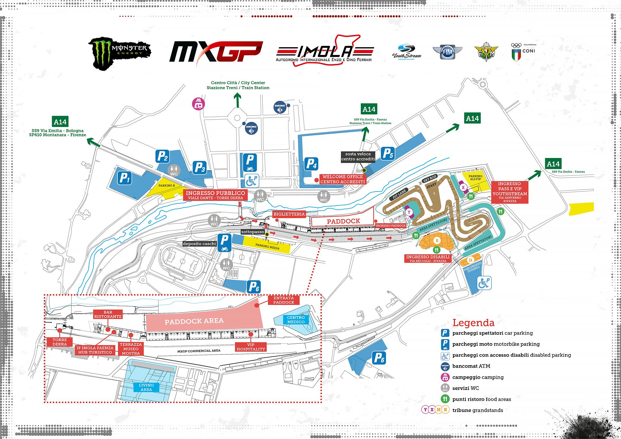 Parking Map MXGP